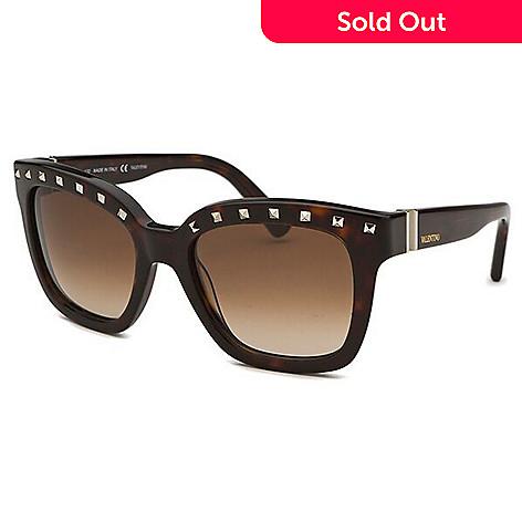 e5fb93a09ac 725-793- Valentino Square Frame Embellished Sunglasses w  Case