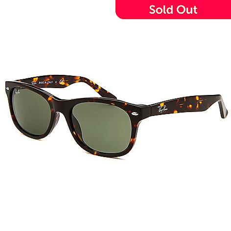 ray-ban unisex new wayfarer sunglasses tortoiseshell
