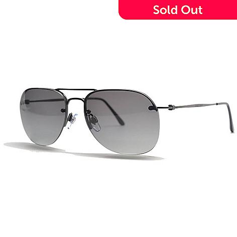 a83574ef0994 726-496- Giorgio Armani Men's Gunmetal & Gray Aviator Frame Sunglasses ...