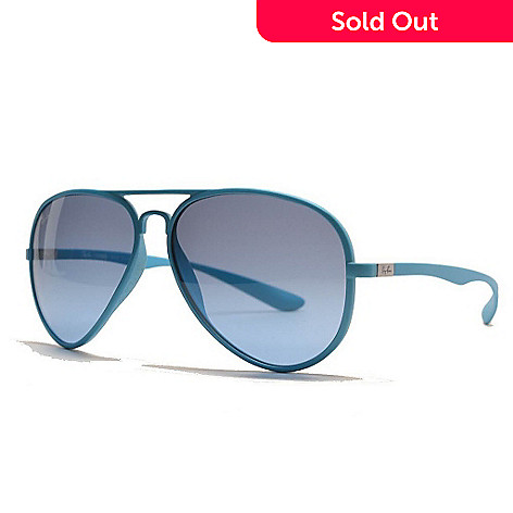 aa989e192 726-509- Ray-Ban Aviator Blue or Green Sunglasses