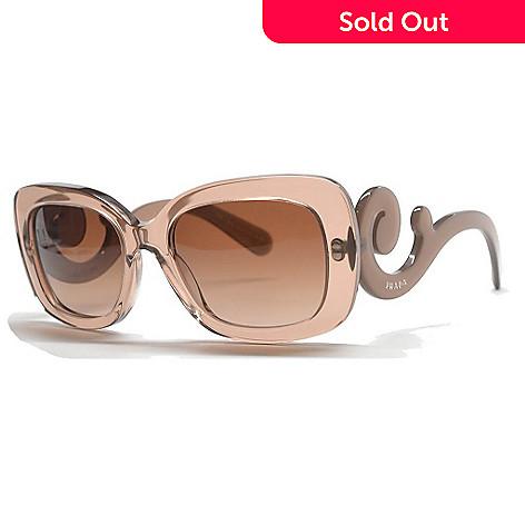 76ef4693a6 727-270- Prada Baroque Swirl Arm Rectangular Frame Sunglasses