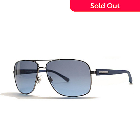 9d5a0f86959b 727-271- Dolce & Gabbana Men's Gunmetal Aviator Frame Sunglasses w/ Case