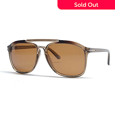 13d940cd7374 728-397- Tom Ford Brown Polarized Designer Sunglasses w  Case