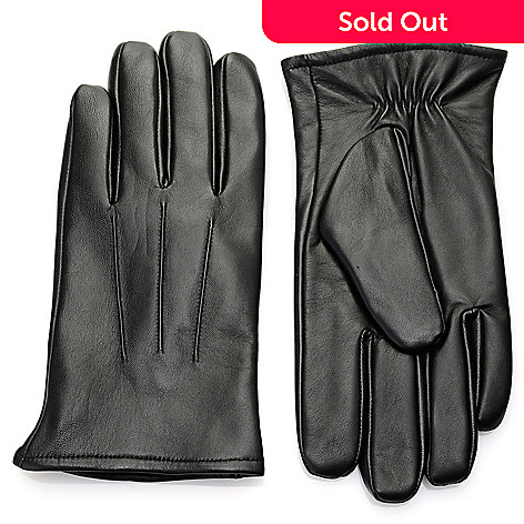 4a9488380 730-390- Excelled Women's or Men's Lamb Leather Cashmere Lined Touch Tip  Gloves