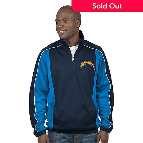 97339751 NFL Men's Fleece Half Zip Performance Pullover Jacket