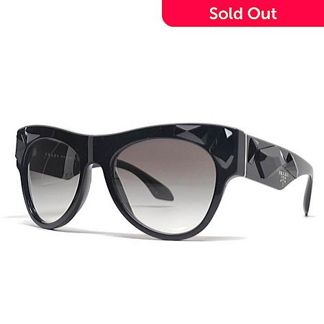 Prada Thick Frame Sunglasses w/ Case - EVINE