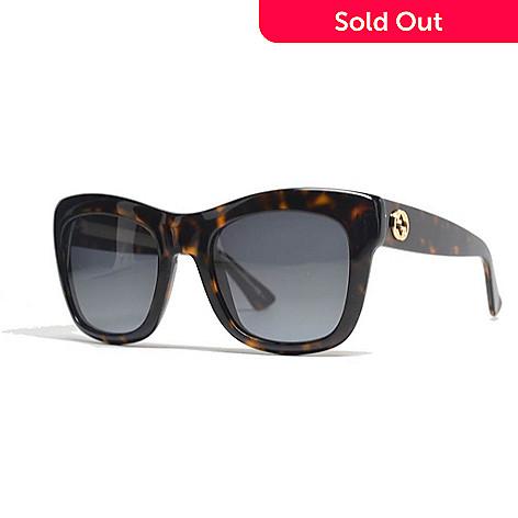 5c44f805bc98 732-010- Gucci Havana Square Frame Sunglasses w  Case