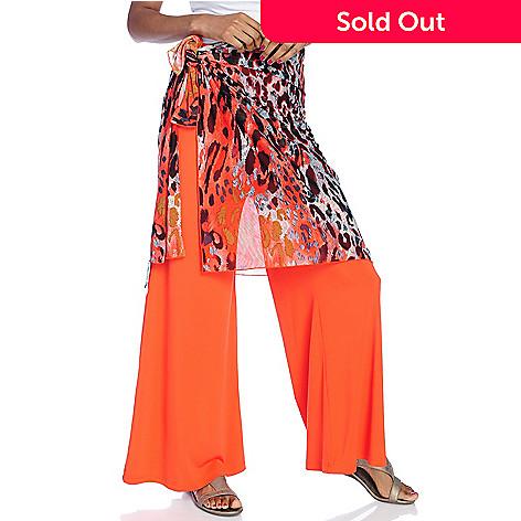 a328e656e7 732-853- Isy B. Printed Mesh Sarong Skirt