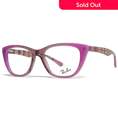 ddff648a7e 733-143- Ray-Ban Pink Cat Eye Frame Eyeglasses w  Case