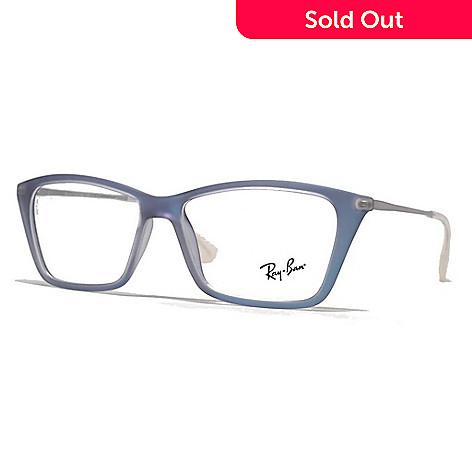 b14b011964 733-989- Ray-Ban Men s Azure   Silver Navigator Rectangular Frame  Eyeglasses w