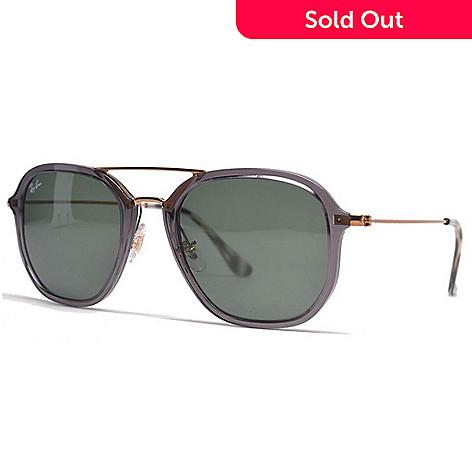 af3d01e65da Ray-Ban Unisex Grey   Copper-tone Aviator Frame Sunglasses w  Case ...