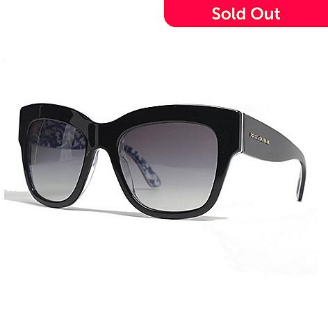 d4e7368e58f7 734-409- Dolce & Gabbana Black Gradient Lens Cat Eye Frame Sunglasses w/