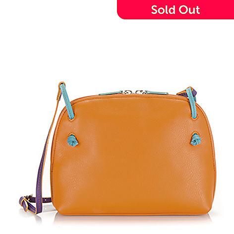 735 326 Mywalit Leather Top Zip Crossbody Bag W Adjule Shoulder Strap