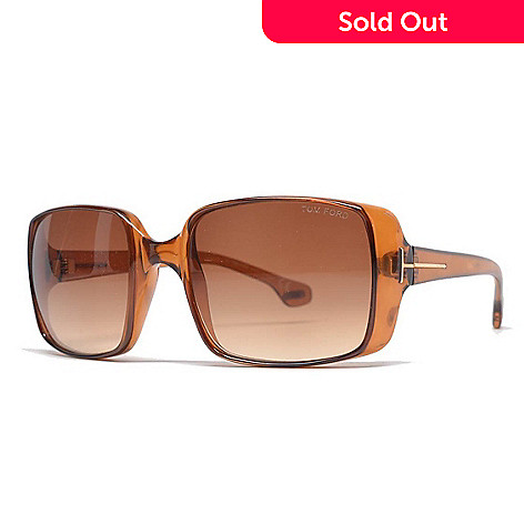95991b7a79 736-688- Tom Ford Brown or Black Rectangular Sunglasses