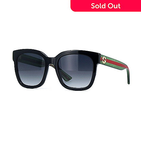 28de75ff88 736-796- Gucci Black Square Frame Sunglasses w  Case