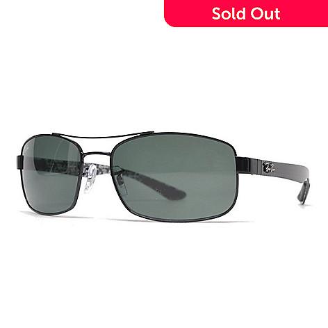 d590c2dcb1 737-531- Ray-Ban Men s Black Aviator Frame Sunglasses w  Case