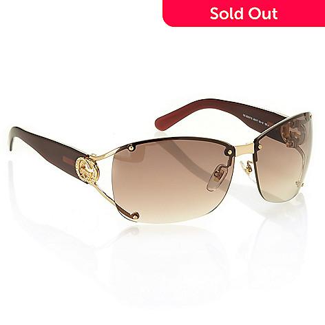 ca229c2938e 737-633- Gucci Embellished Rectangle Sunglasses w  Case