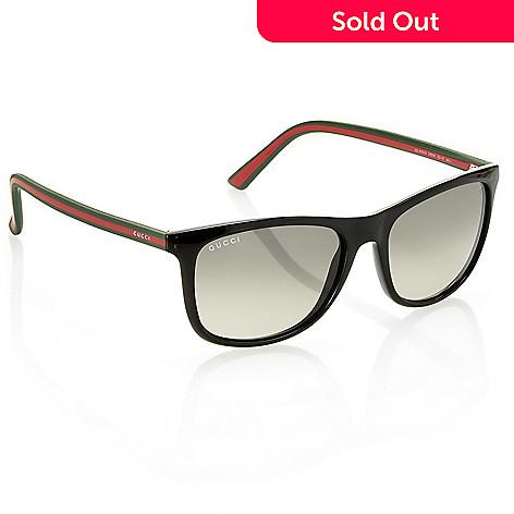 8853b34a979 737-641- Gucci Unisex Black Round Sunglasses w  Case