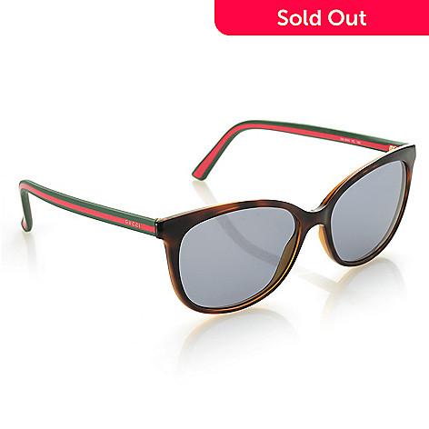 176d852d72 738-022- Gucci 53mm Havana Round Frame Sunglasses w  Case
