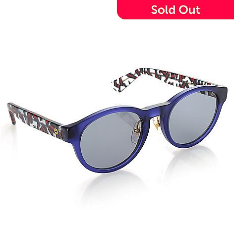 55de9c418d8 738-023- Gucci 49mm Round Frame Sunglasses w  Case