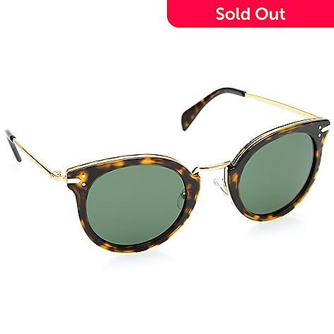 f74dc486f55f 738-963- Celine 48mm Round Frame Sunglasses w  Case