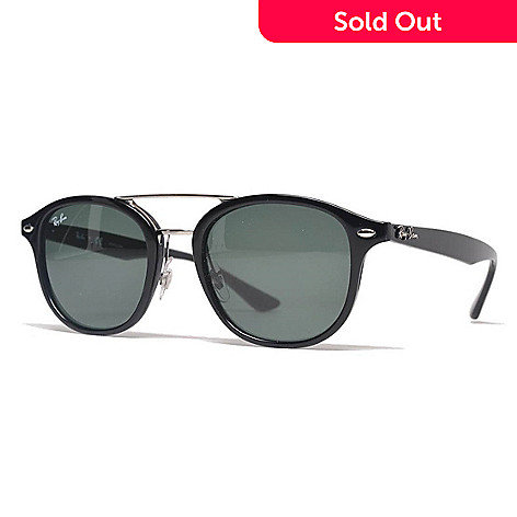 1b0fcd5fbb 739-270- Ray-Ban Unisex 53mm Black Aviator Frame Sunglasses w  Case