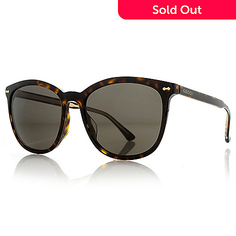 5c2faab568 739-668- Gucci 58mm Round Frame Oversized Sunglasses w  Case
