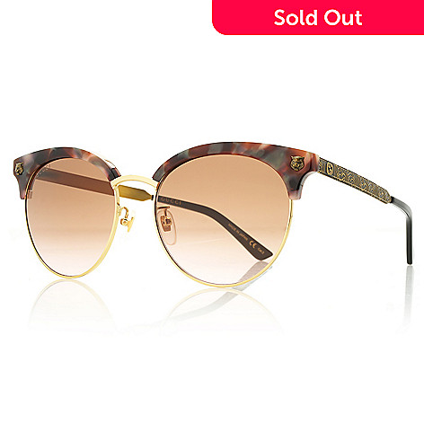 b492e135b3686 739-669- Gucci 56mm Cat Eye Frame Sunglasses w  Case