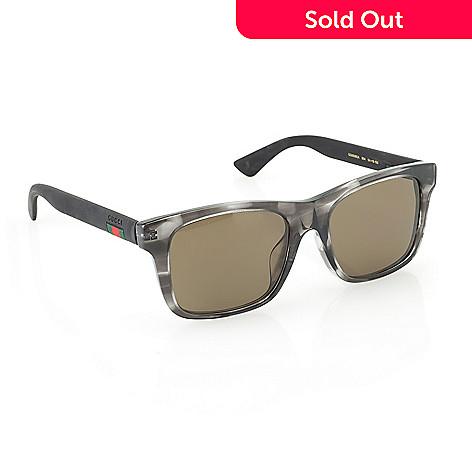 29db87f61f 739-671- Gucci Men s 54mm Havana Round Frame Sunglasses w  Case