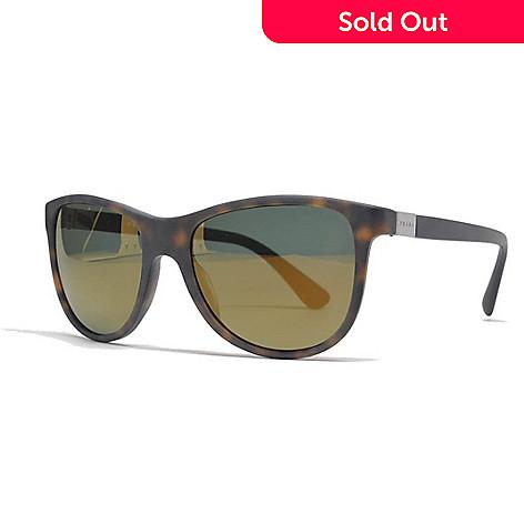 d573ea43294 739-925- Prada Men s Havana Rectangular Frame Sunglasses w  Case