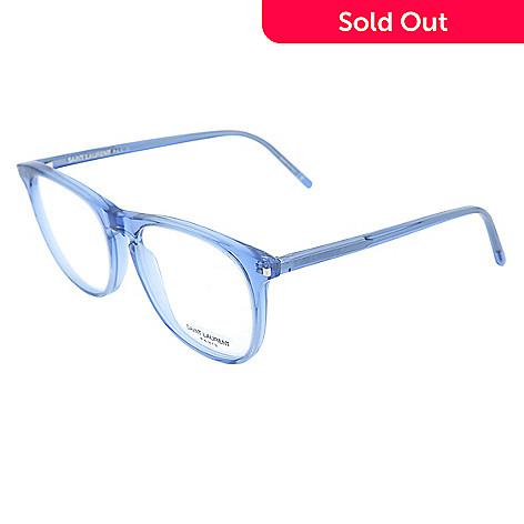 15a5075b27 741-372- Saint Laurent 53mm Blue Wayfarer Frame Eyeglasses w  Case