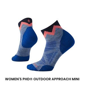 Womens Approach Sock 1