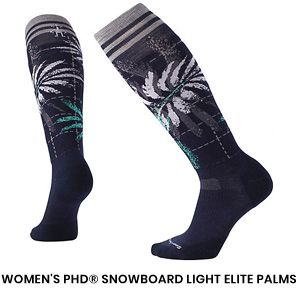 Womens Snowboard Sock 1