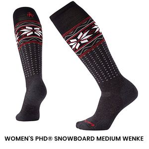 Womens Snowboard Sock 2
