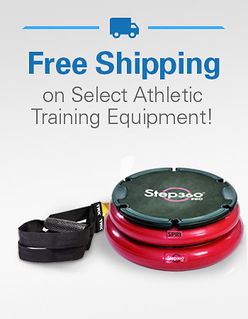 Free Shipping on Select Athletic Training Equipment