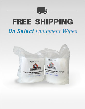 Free Shipping on Select Fitness Equipment Wipes