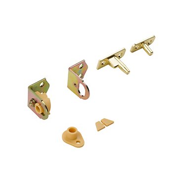 Brass Finishes V130 Swing N Stay® Café Door Hinges   N173 823
