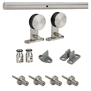 Stainless Steel 922 Decorative Interior Sliding Door Hardware   N186 962