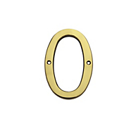Brassfinishes V1902 House Numbers   Solid Brass