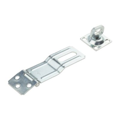 National Hardware N226-498 SPB32 Swivel Staple Safety Hasp in Zinc Plated