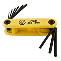 Foldup Hex Key Sets