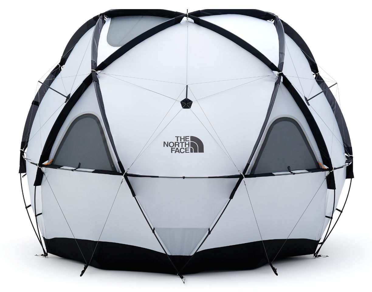 The North Face's Geodome 4 tent
