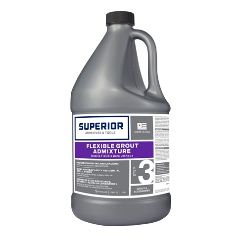 Superior Flexible Grout Admixture 1 Gallon The Tile Shop