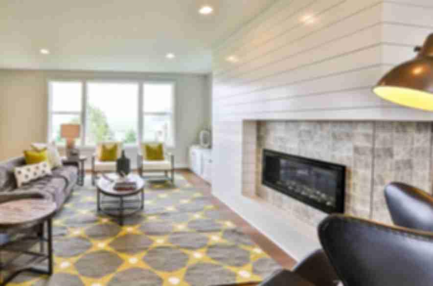wood look living room tiles.