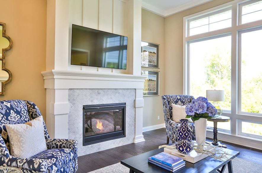 Fireplace Tile Designs Trends Ideas The Tile Shop