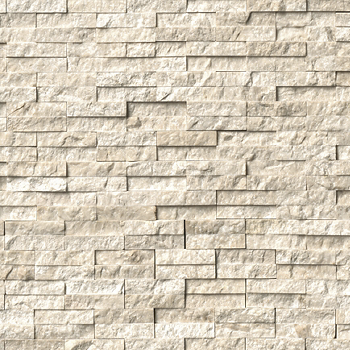 Shop QUEEN BEIGE MARBLE SPLIT FACE WALL TILE from The Tile Shop on Openhaus