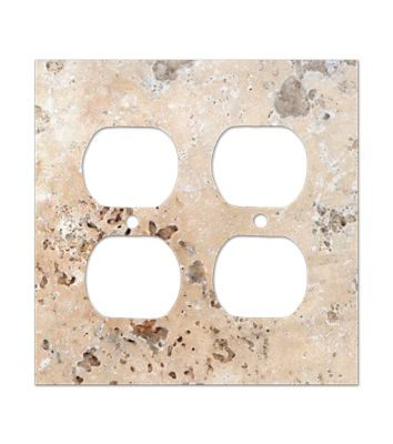 Stone Switch Plates Amp Outlet Covers The Tile Shop