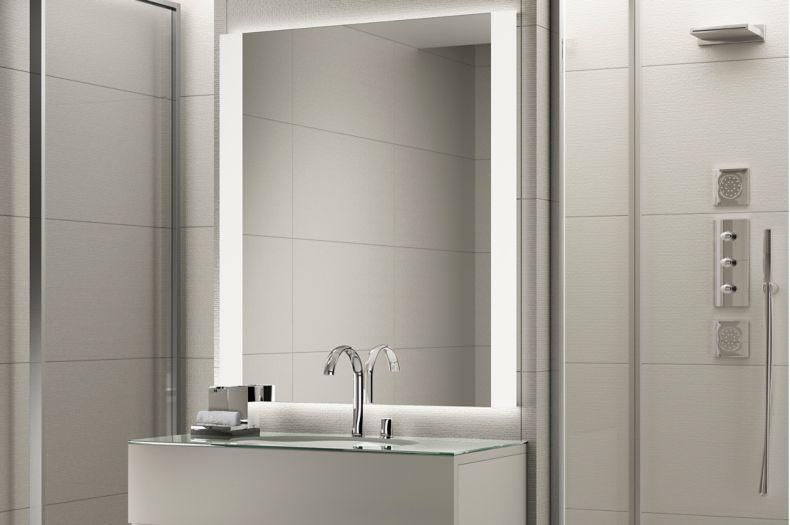 Grey Tile Sophisticated Shower Room
