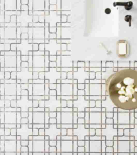 bathroom floor tile pattern
