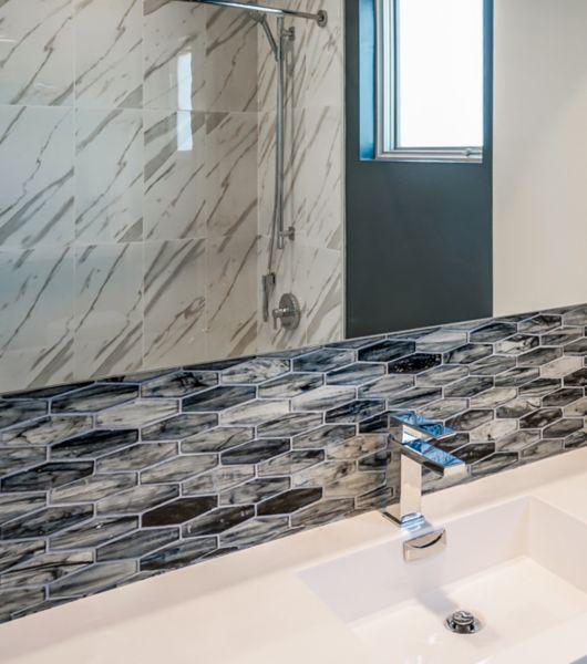 Glass Wall Tile The Tile Shop - Green-glass-bathroom-tile